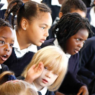 Children in assembly